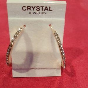 Rose Gold 18k Hoop Earrings